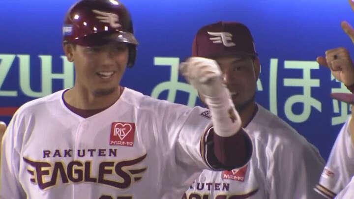 松井裕樹が5回12奪三振0封、下妻貴寛にプロ初アーチも生まれた楽天が5連勝
