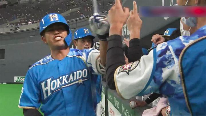 今川優馬が地元北海道でプロ初安打の先制2ラン! 北海道日本ハムが連勝