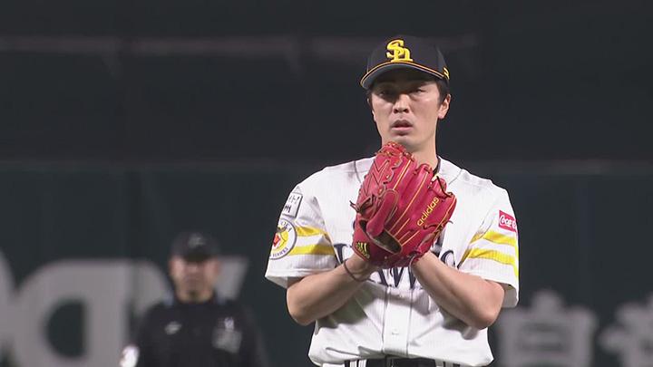 福岡ソフトバンクホークス・和田毅投手(C)パーソル パ・リーグTV