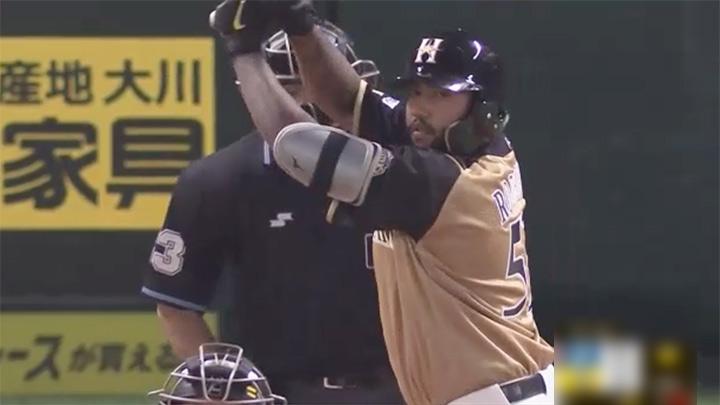 R.ロドリゲスが待望の来日初本塁打を放つも、流れをつかみ切れず北海道日本ハムが惜敗