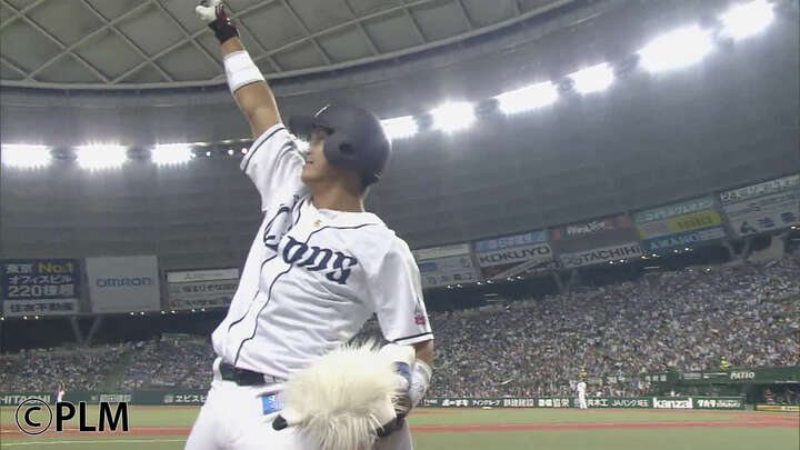 「夢みたいなベースラン」。埼玉西武の元気印が「らしい」プロ初安打・初本塁打