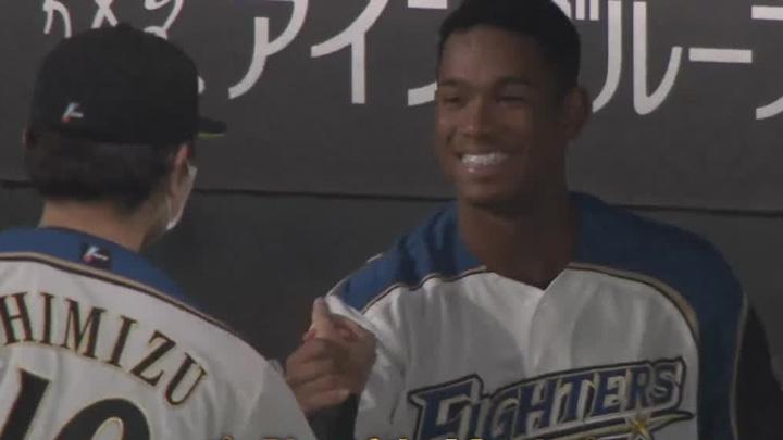 万波中正が待望のプロ初本塁打を放つも、打線がつながらず。北海道日本ハムが敗戦