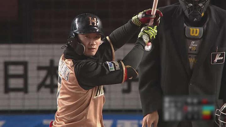 西川遥輝の決勝打で北海道日本ハムが最終戦勝利。加藤貴之は今季4勝目をマーク