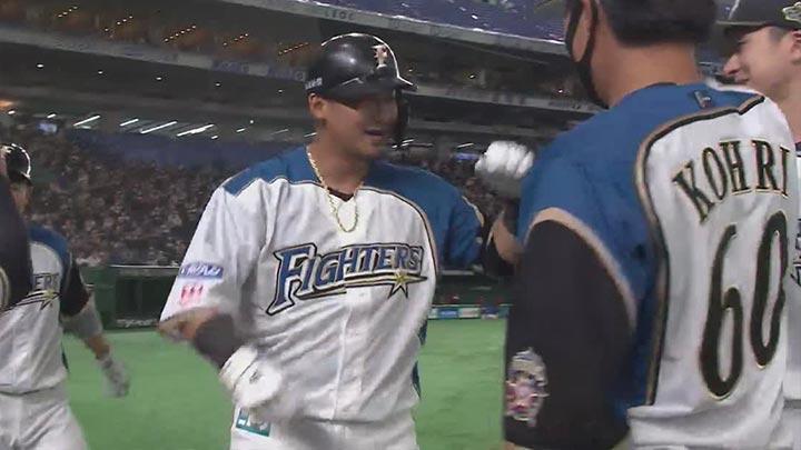 北海道日本ハムファイターズ・中田翔選手(C)パーソル パ・リーグTV