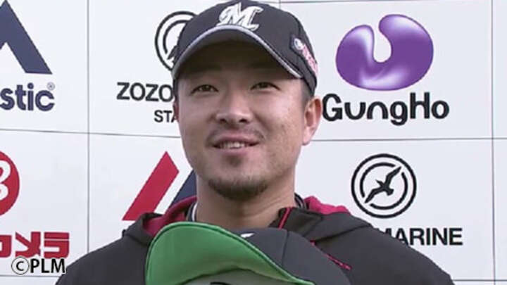 13年目の千葉ロッテ田中靖洋が好救援でプロ3勝目 初お立ち台に「気持ちいいです」