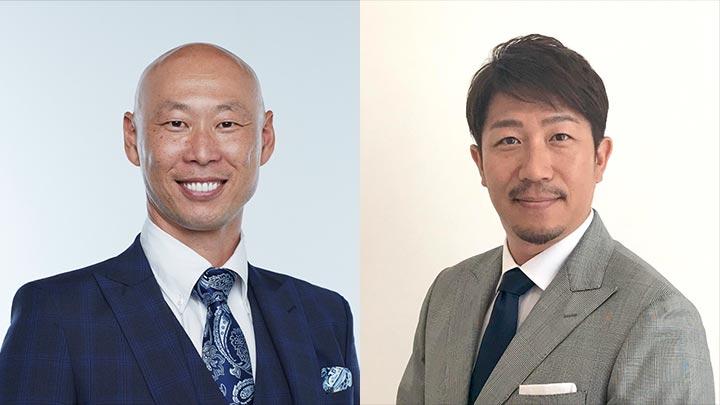 森本稀哲さん(左)と多村仁志さん(右)(C)PLM