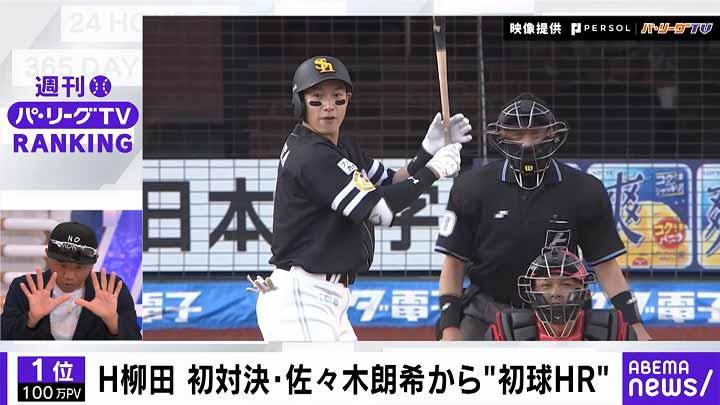 柳田悠岐と佐々木朗希が初対決!「ABEMA バズ!パ・リーグ」でランキングをチェック! 2021 #14