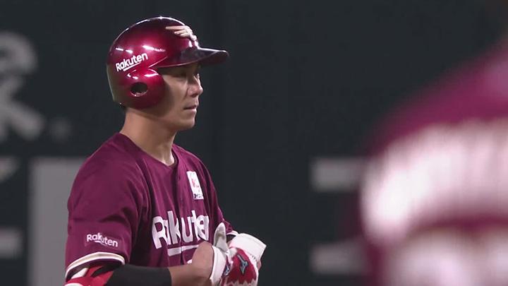 瀧中瞭太が6回無失点の好投で9勝目! 岡島豪郎が2打点を挙げた東北楽天が勝利