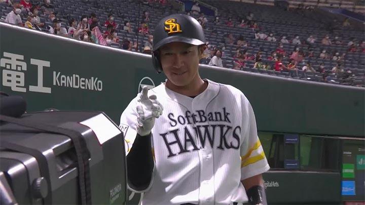 投打のかみ合った鷹が連敗ストップ。柳田悠岐がリーグ単独トップの24号3ラン