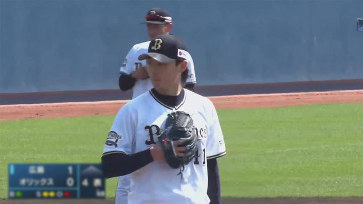 【ファーム】山崎福也が4回1失点。ドラ2ルーキーの元謙太は同点打の活躍