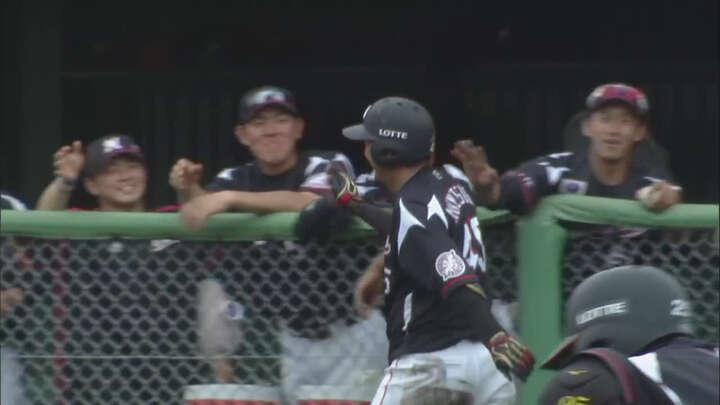 【ファーム】宗接唯人がランニングホームラン。千葉ロッテが埼玉西武に3連勝