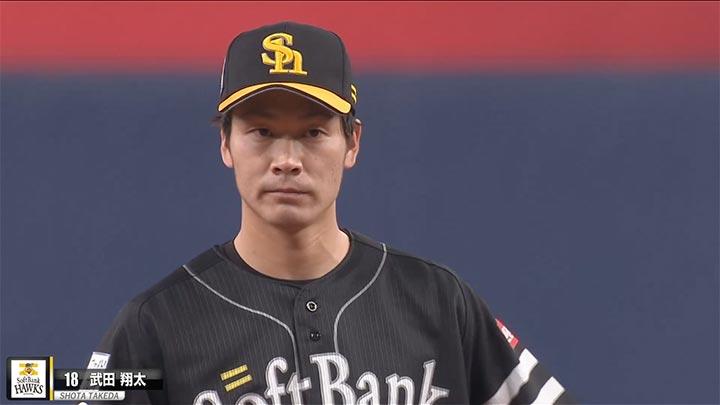 武田翔太、松本裕樹が2失点リレーも、打線が7安打無得点に終わり鷹が竜に完封負け