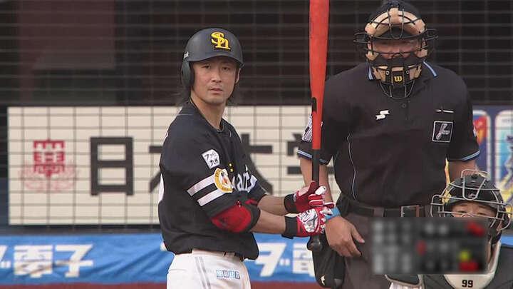 明石健志が2安打2打点の活躍。バンデンハークが2勝目を挙げた福岡ソフトバンクが逆転勝利