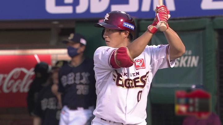 小深田大翔が3安打2打点の活躍。楽天とオリックスの首位攻防戦は引き分けに