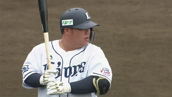 【ファーム】渡部健人、中熊大智にマルチ安打も、投手陣が崩れ埼玉西武が大敗