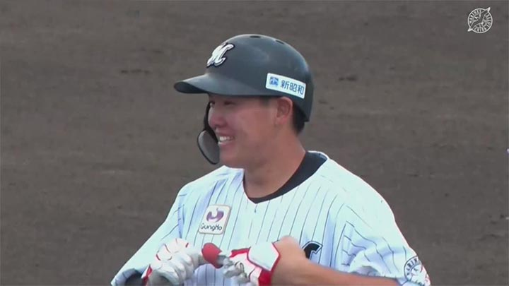 【ファーム】首位攻防第2Rは千葉ロッテが勝利! 安田尚憲がソロ本塁打含む2打点の活躍