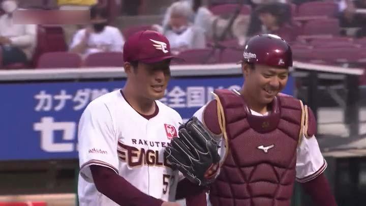 東北楽天ゴールデンイーグルス・瀧中瞭太投手(C)パーソル パ・リーグTV