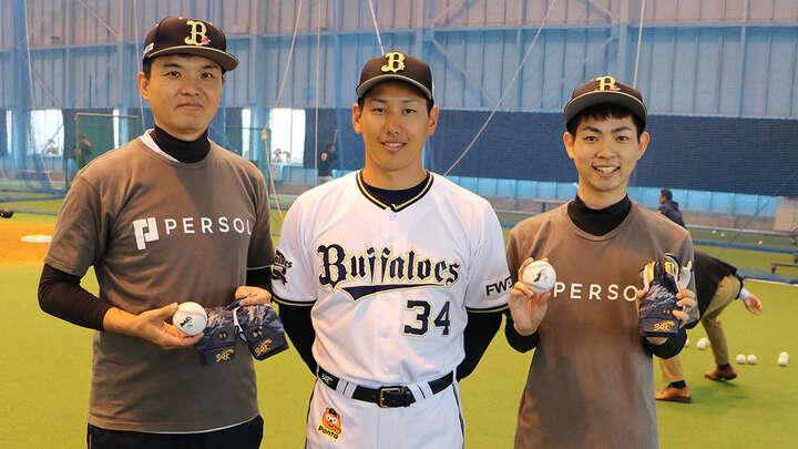 最後に吉田選手と記念撮影!! ご協力ありがとうございました!!