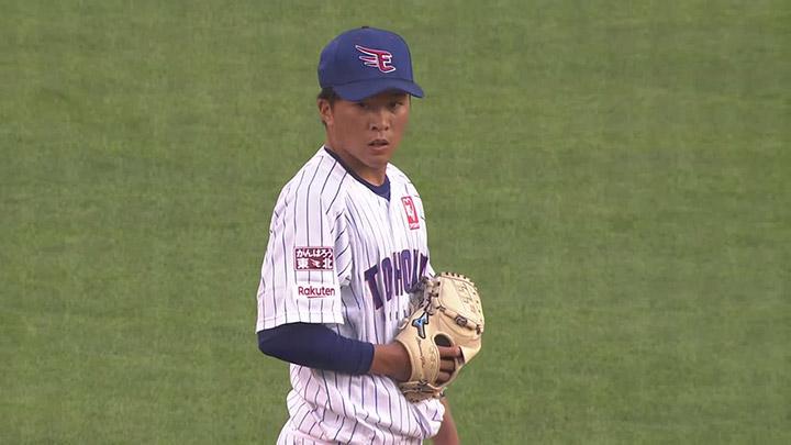早川隆久が5回6奪三振1失点の好投も、打線がつながらず楽天が東京ヤクルトに敗戦