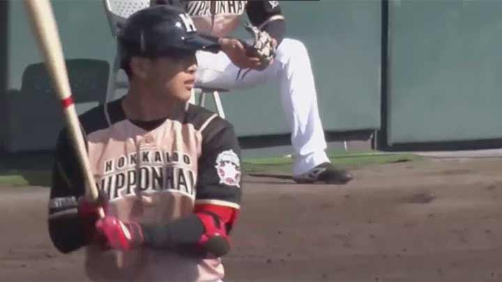 野村佑希が2試合連続弾を含む3安打3打点! 先発・上沢直之も好投し連敗ストップ